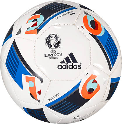 adidas Adidas Mini Fussball Euro 16