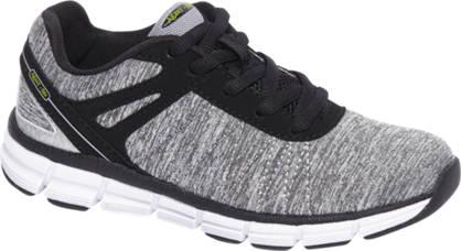 Agaxy Grijze lightweight sneaker Memory foam