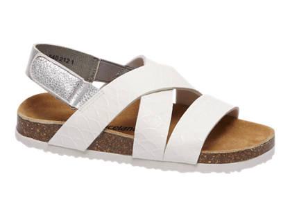 Graceland Witte sandaal klittenband