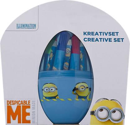 Minions Malset Minion & Frozen Kreativ Ei Kinder