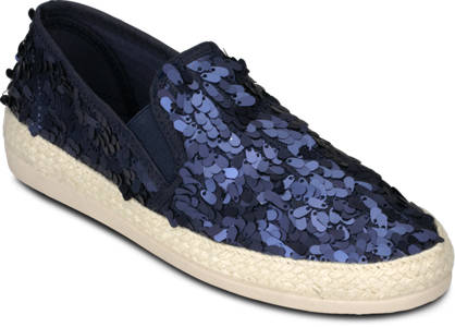 Oxmox Oxmox Pailletten-Slipper