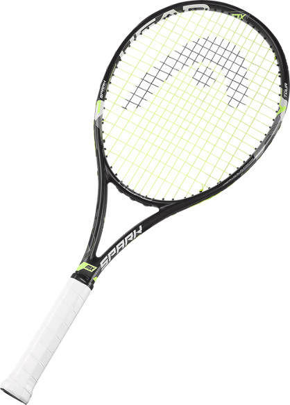 Head Head Tennisracket Spark Line