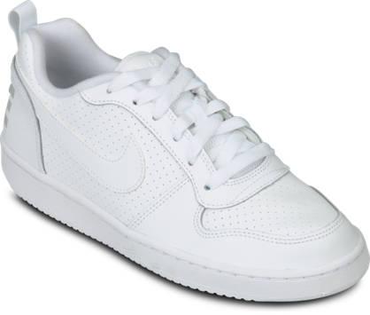Nike W Court Borough Mid SvartVit Sneakers Dam Utlopp