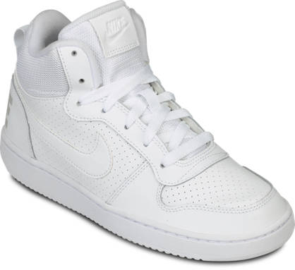 NIKE Mid-Cut Sneaker - COURT BOROUGH MID (GS)