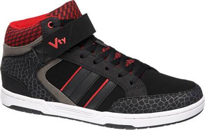 Vty Zwarte sneaker print