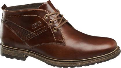 AM shoe Bruine leren veterschoen