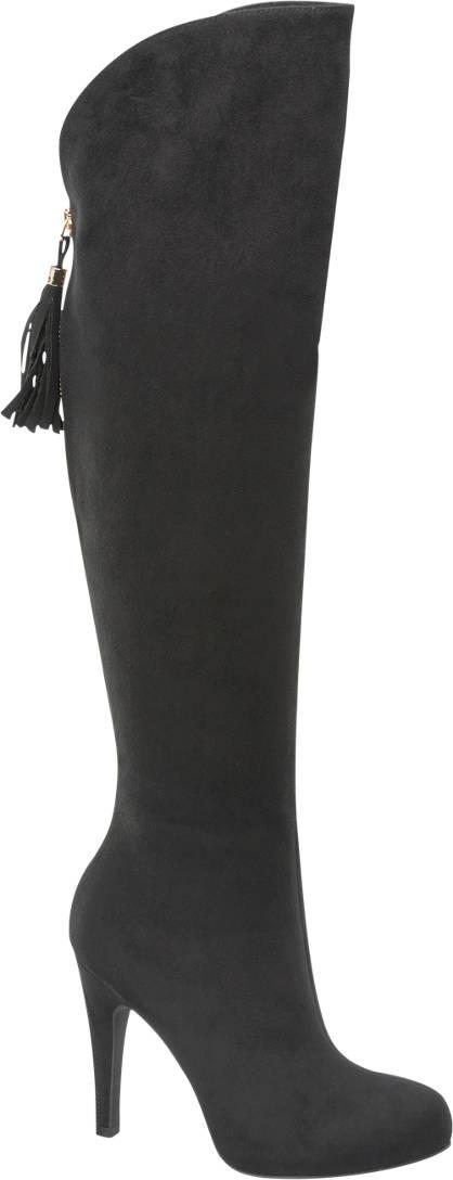Graceland Sylvie Meis - Zwarte overknee laars
