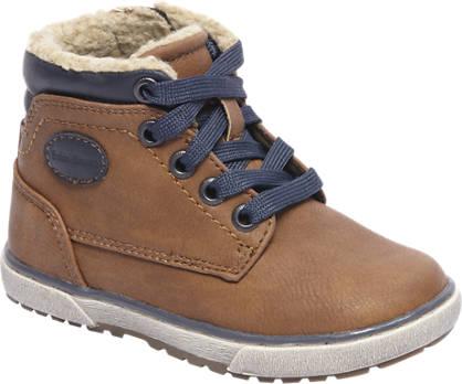 Bobbi-Shoes Bruine boot gevoerd