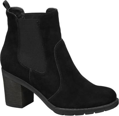 5th Avenue Zwarte suède chelsea boot
