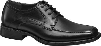Agaxy Zwarte geklede schoen jongens