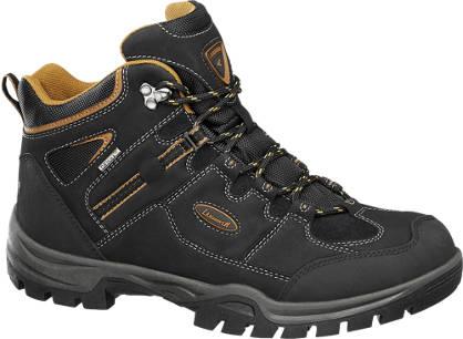 Landrover Zwarte wandelschoenen