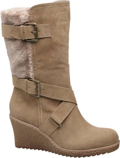 Graceland Wedge High Leg Boots