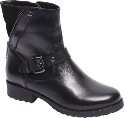 5th Avenue Zwarte boot siergesp