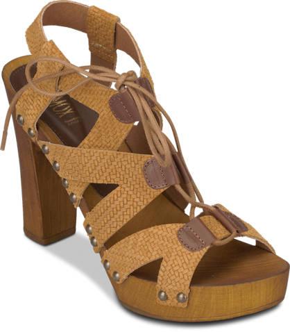 Oxmox Oxmox Lace Up-Sandalette