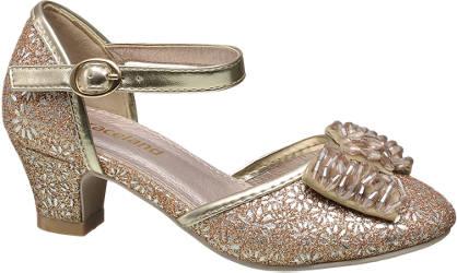 Graceland Glitter & Bow Party Shoe