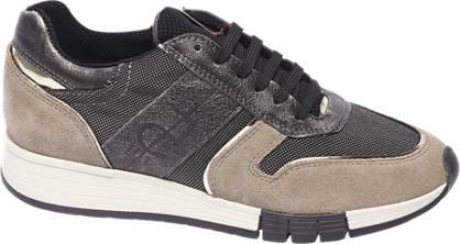 Graceland Premium - Beige leren sneaker
