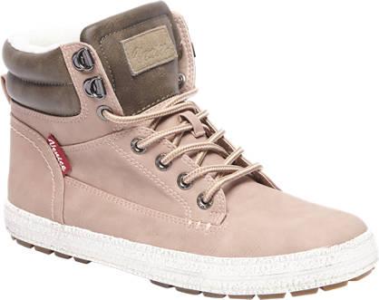 Venice Roze halfhoge sneaker