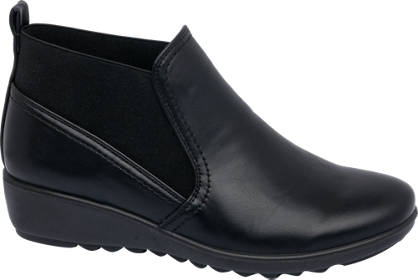 Easy Street Wedge Ankle Boots