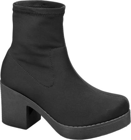 Catwalk Stretch Ankle Boots
