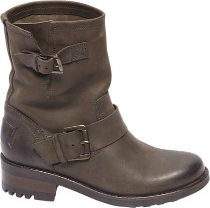 Landrover Premium - Bruine leren boot siergesp