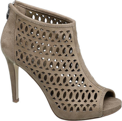 Ellie Goulding collection Beige sandalette opengewerkt