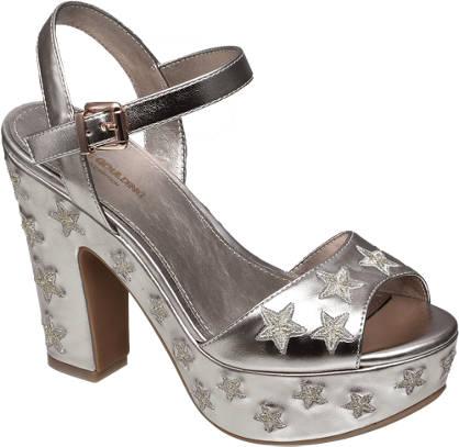 Ellie Goulding collection Rosè sandalette sterren