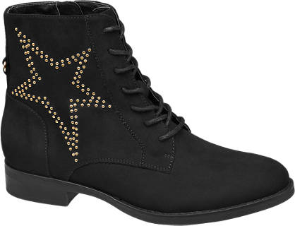 Star Collection Star Detail Ankle Boot