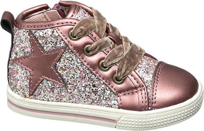Cupcake Couture Toddler Girl Glitter High Tops