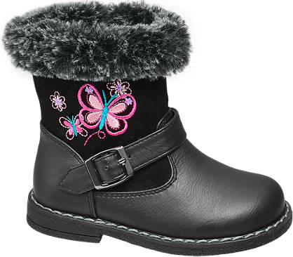 Cupcake Couture Toddler Girl Fur Trim Boots