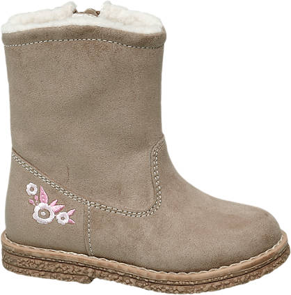 Cupcake Couture Toddler Girl Flower Detail Boots