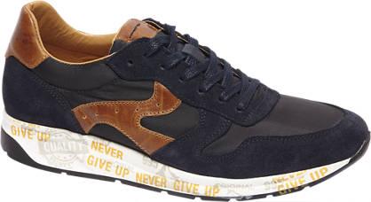 AM shoe Blauwe suède sneaker