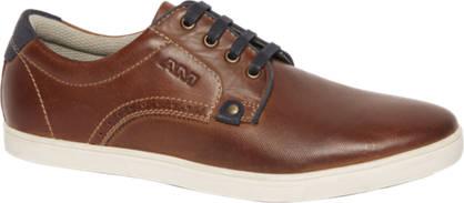 AM shoe Bruine sneaker leer