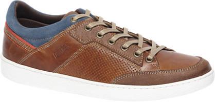 AM shoe Bruine sneakers perforatie