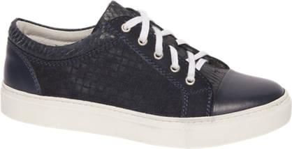 AM shoe Donkerblauwe sneaker geweven look