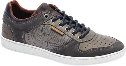 AM shoe Grijze sneaker tekst print