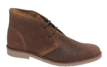 AM shoe Premium - Cognac leren desert boot