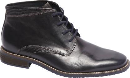 AM shoe Premium - Zwarte leren veterschoen
