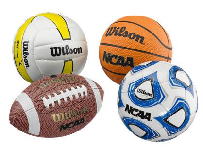 Wilson Wilson Micro Sports 4 Ball Kit