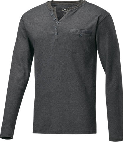 Black Box shirt long hommes