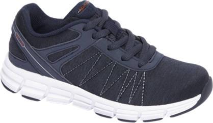 Agaxy Blauwe lightweight sneaker Memory foam
