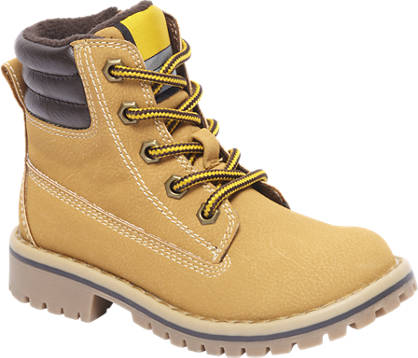 Agaxy Camel veterboot ritssluiting