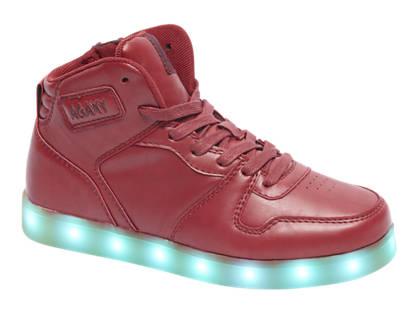 Agaxy Rode sneaker LED
