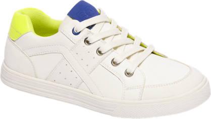 Agaxy Witte sneaker neon