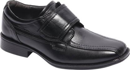 Agaxy Zwarte geklede jongens schoen