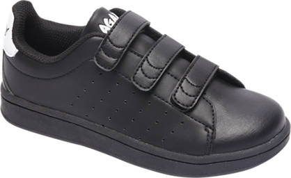 Agaxy Zwarte sneaker klittenband