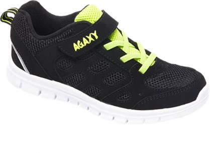 Agaxy Zwarte sneaker lightweight