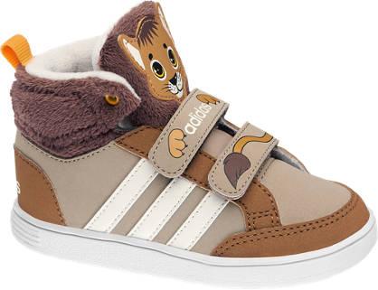 adidas neo label Barna magasszárú HOOPS ANIMAL MID INF cipő