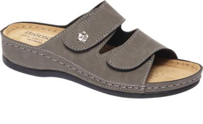 Björndal Grijze sandaal klittenband