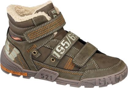 AGAXY Bélelt magasszárú cipő