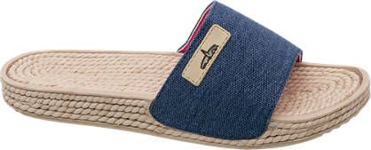 Blue Fin Canvas Slip On